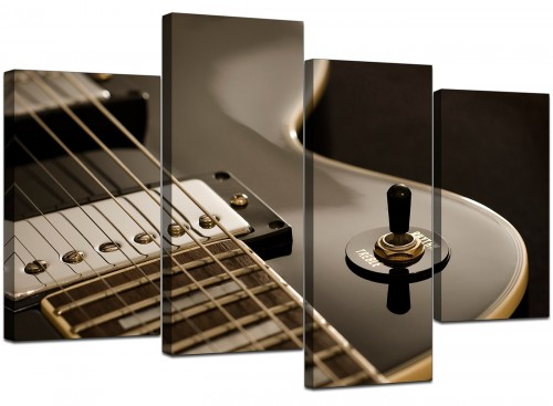 Contemporary Electric Guitar Gibson Music Canvas
