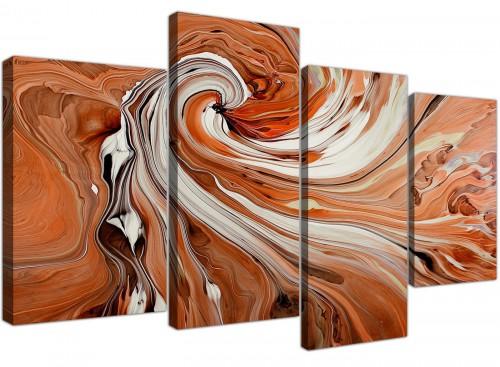 cheap canvas art living room 4 panel 4264
