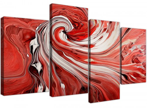 cheap canvas art living room four panel 4265