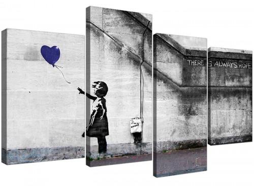 Cheap Canvas Wall Art Study 130cm x 67cm 4226