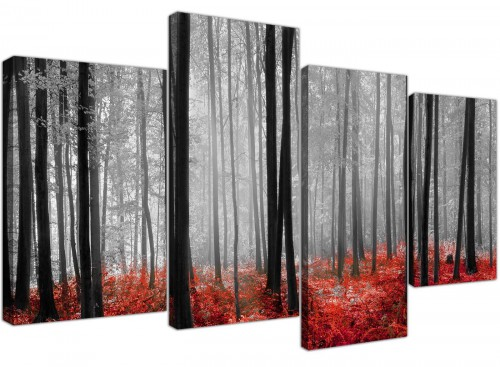cheap canvas pictures living room set of 4 4236