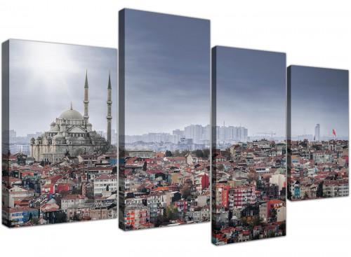 cheap-canvas-prints-living-room-4-panel-4274