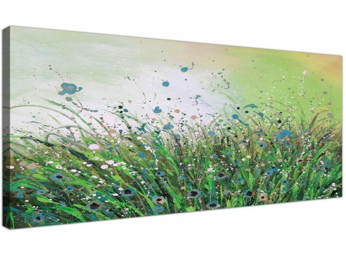 cheap panoramic canvas pictures living room 120cm x 50cm 1261