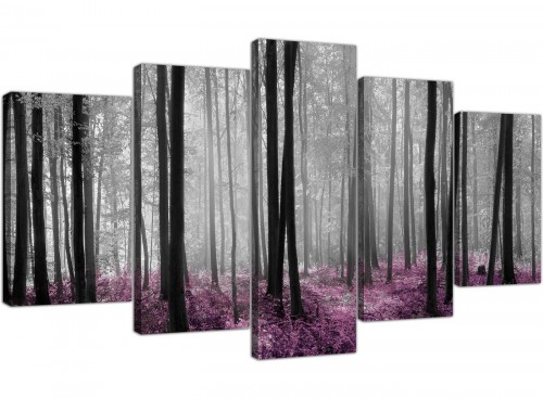extra large canvas pictures girls bedroom 5 piece 5240