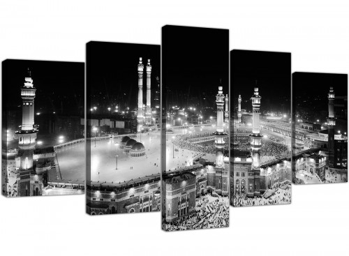 extra large canvas prints living room 5 panel 5231