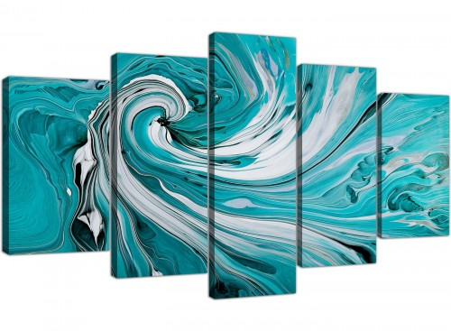 extra large canvas prints living room 5 panel 5266