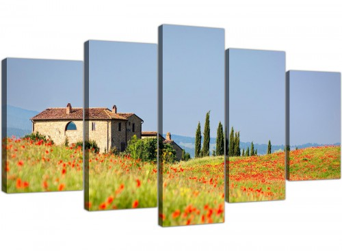 extra large canvas prints uk living room 5 panel 5233