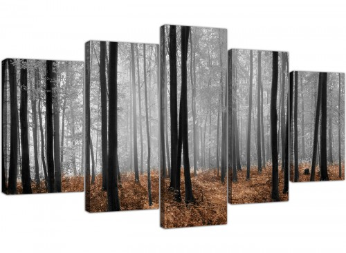 extra large canvas wall art dining room 5 panel 5238