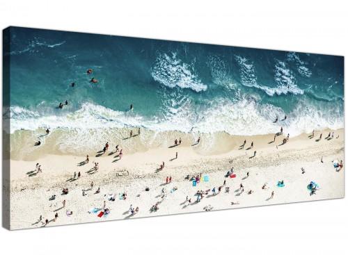 gold coast beach canvas art