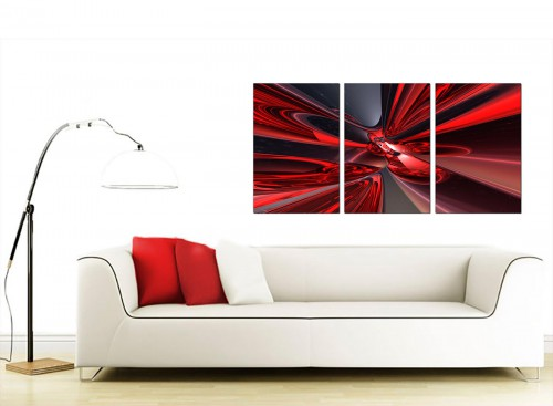 Set of 3 Abstract Canvas Wall Art 125cm x 60cm 3006