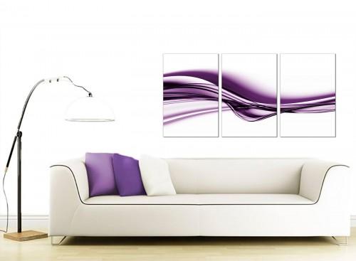 Set of 3 Abstract Canvas Art 125cm x 60cm 3031