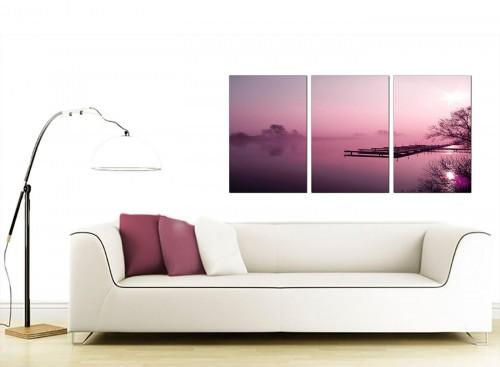3 Panel Landscape Canvas Prints UK 125cm x 60cm 3120