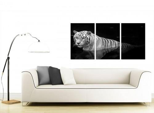 3 Panel Wildlife Canvas Prints UK 125cm x 60cm 3020