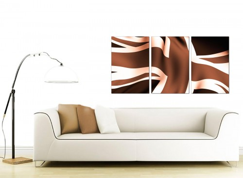 Set of 3 British Flag Canvas Wall Art 125cm x 60cm 3011