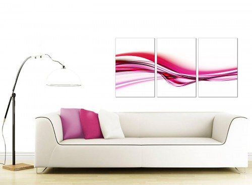 Set of 3 Abstract Canvas Wall Art 125cm x 60cm 3030