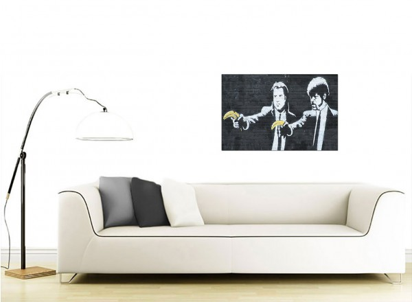 Banksy Canvas Prints - Pulp Fiction
