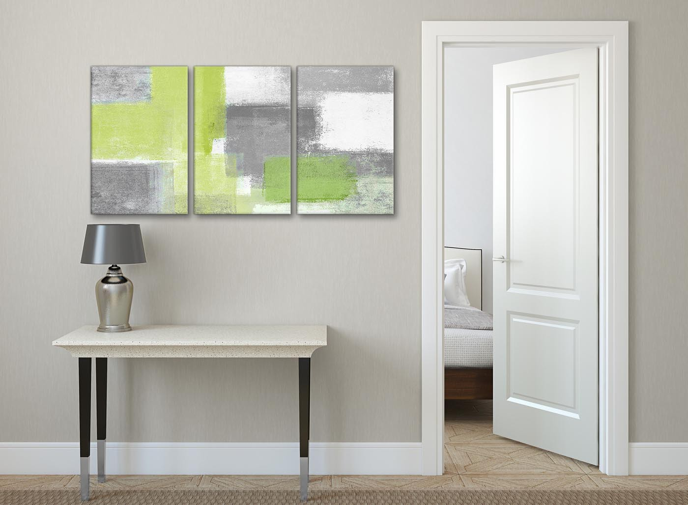 green kitchen pictures 3 lime green grey hallway canvas pictures decor 1424