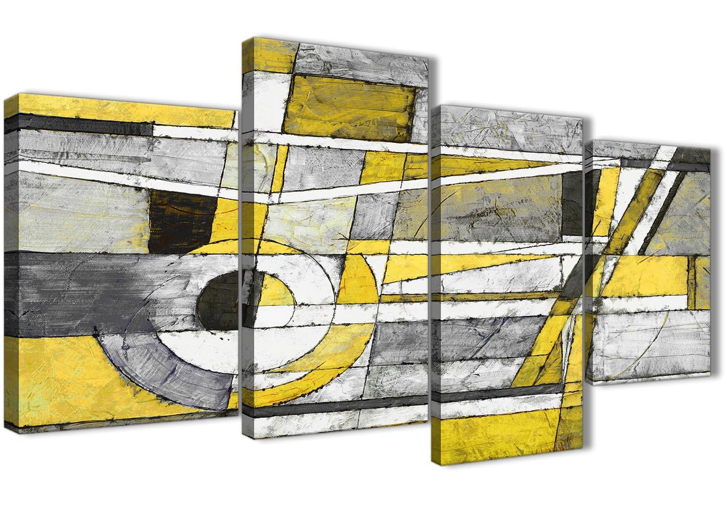 Yellow Wall Art Uk - Elitflat