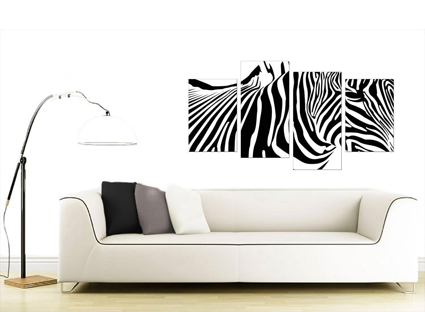 Animal Canvas Wall Art of Zebra - For Living Room