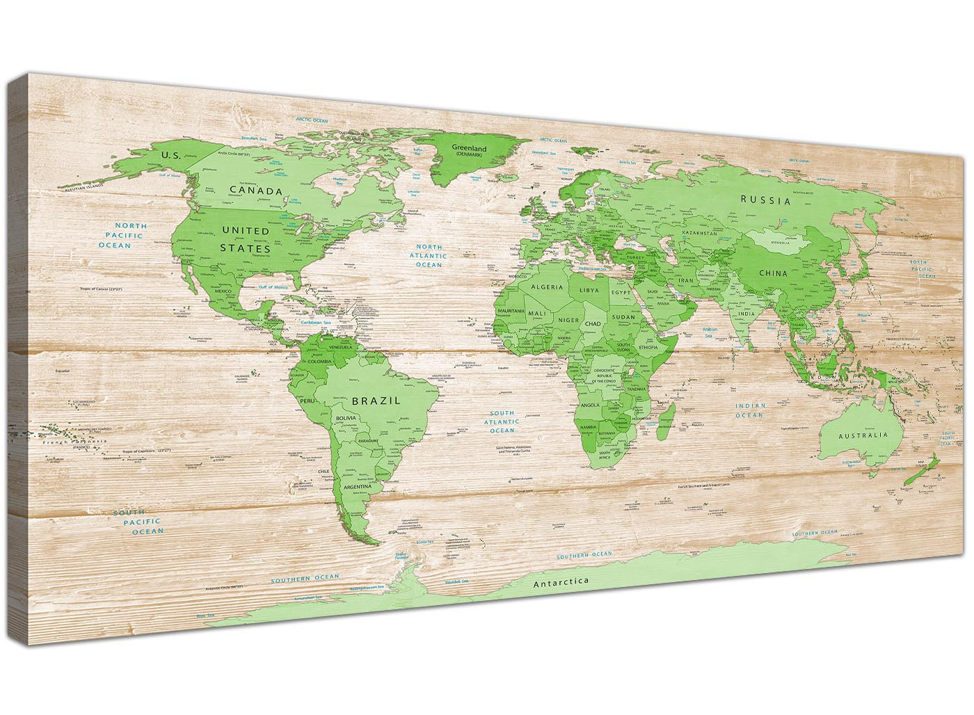 Large lime green cream world map atlas canvas wall art prints large lime green cream world map atlas canvas wall art prints modern 120cm wide 1310 gumiabroncs Images