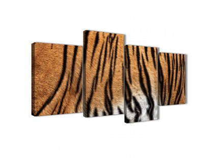Tiger Animal Print Picture Canvas Wall Art