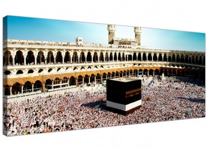 Large Islamic Canvas Art - Hajj Pilgrimage Kaaba Canvas Art - 120cm - 1191