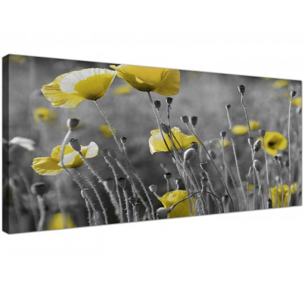 Yellow Canvas Pictures Prints & Wall Art - FREE Delivery