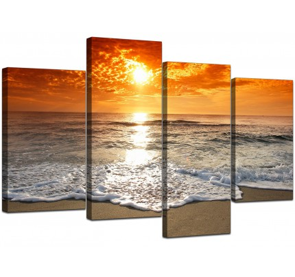 Orange Canvas Pictures Prints & Wall Art - FREE Delivery