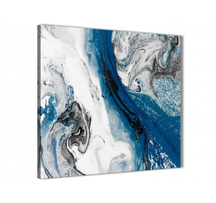 Blue Canvas Pictures Prints Wall Art Free Delivery