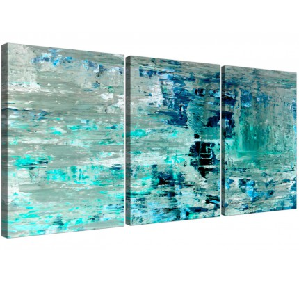 Teal Canvas Pictures Prints Wall Art Free Delivery